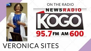 Live on the Radio in San Diego | Veronica Sites