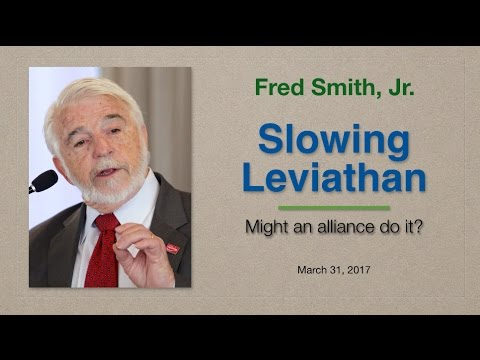 Slowing Leviathan – Might an alliance do it?