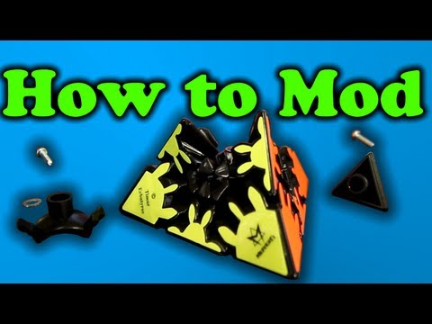 How to mod a Gear Pyraminx