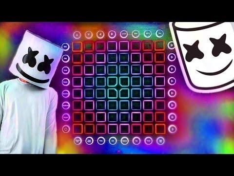 Marshmello - ALONE - [Launchpad Pro Light Show] - YouTube