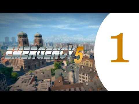 Emergency 5 - Let's Play Gameplay Walkthrough - Munich - Part 1
