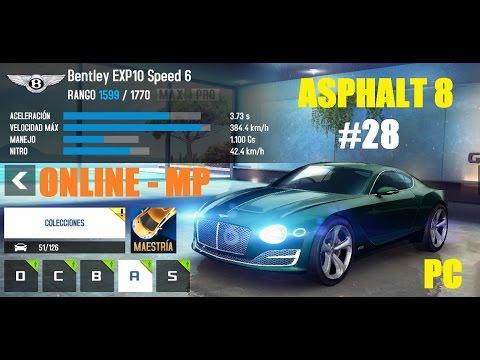 asphalt 8 airborne gameplay online bentley exp10 pc youtube. Black Bedroom Furniture Sets. Home Design Ideas