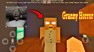 ENCONTREI A GRANNY HORROR NO MINECRAFT PE 1.7!