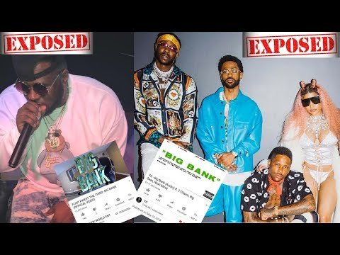 NICKI MINAJ, YG and 2Chainz EXPOSED for COPYING 'Big Bank' SONG by Rapper FLINT FINEST THE THIRD!