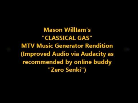 "MTV Music Generator (PS1) - ""CLASSICAL GAS"" Improved Audio via Audacity"