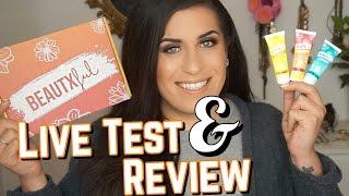 Julia Beautx neue Marke BeautxFul | Live Test & Review | Jolina Mennen