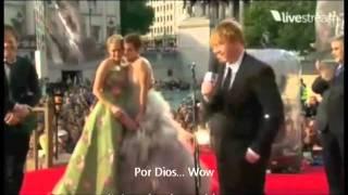 Harry Potter Premier  en Londres (2011)  Discursos Daniel, Emma, Rupert y JK (Subtitulado)