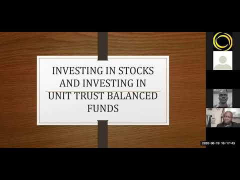 Investing in Equities and Balanced Funds | Francis Sang, Zimele Asset Managers