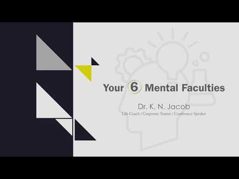 Your 6 Mental Faculties - Dr. K. N. Jacob