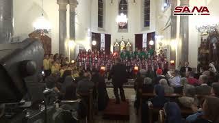 РЕАЛЬНАЯ СИРИЯ - Детский хор в латинской церкви Дамаска, 16.12.2017