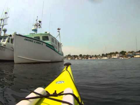Paddle around Gloucester Harbor