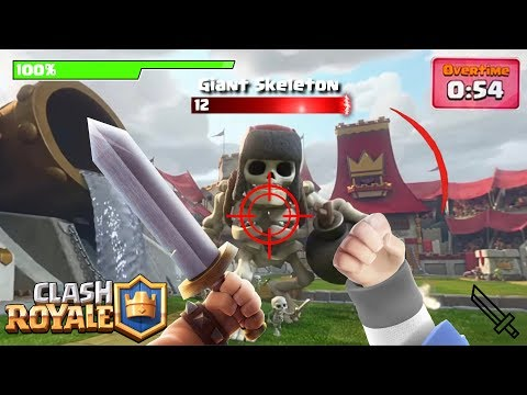 Clash Royale in the FUTURE! Virtual Reality 360 + Card Concepts!