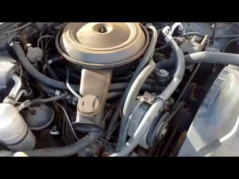 1983 Malibu wagon engine vid