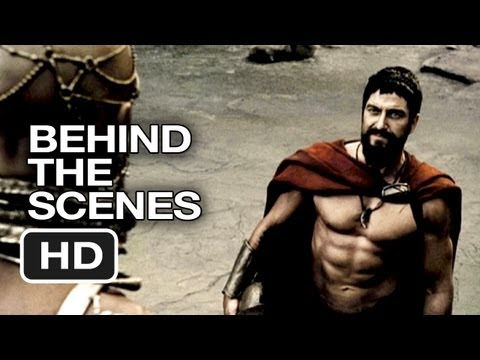 300 Behind The Scenes - Visual FX (2006) - Gerard Butler Movie HD