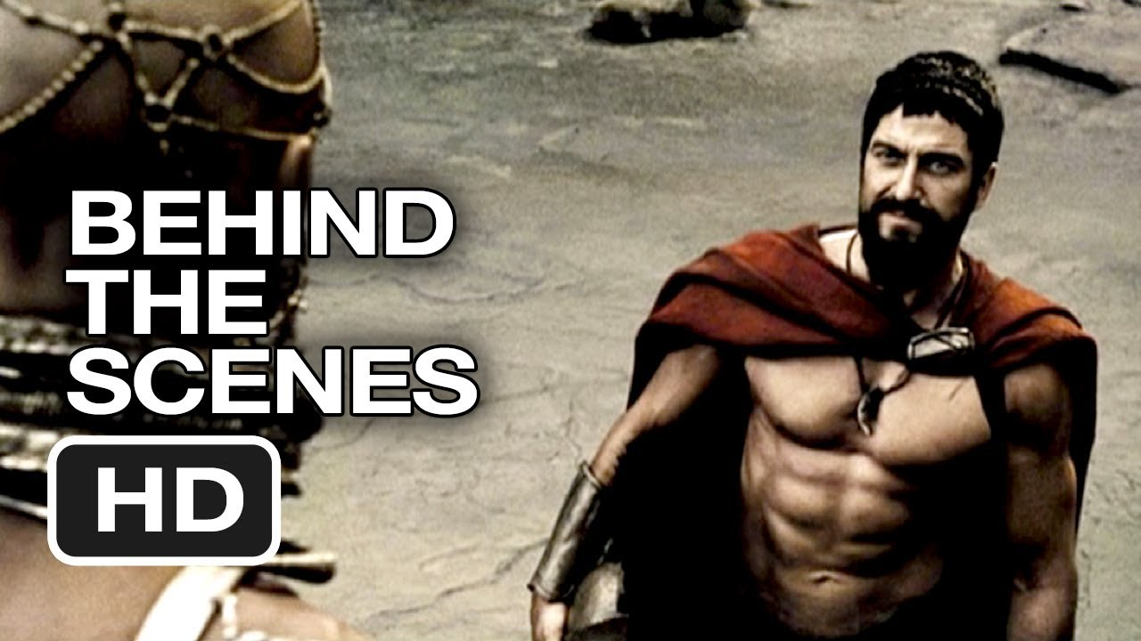 300 behind the scenes visual fx 2006 gerard butler