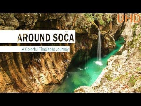 AROUND SOČA - A Colorful Timelapse Journey