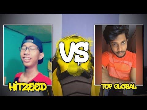 HITZEED VS TOP GLOBAL TIKTOK!! WKWK