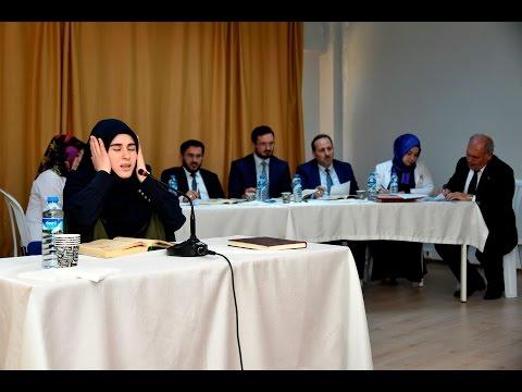 Gümüşhane'de Genç Nida Kur'an okuma yarışması düzenlendi