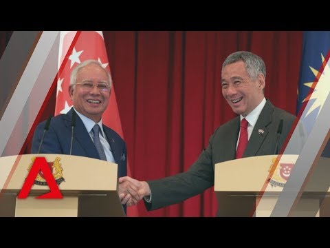 PMs Lee Hsien Loong, Najib Razak on JB-Singapore rail links, water supply