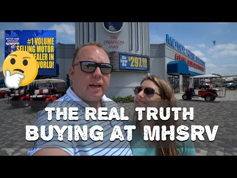 The REAL TRUTH - Motorhome Specialists - Our Buying Experience - MHSRV