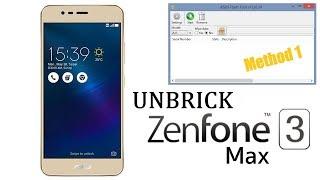 UNBRICK Recovery Zenfone 3 Max ROM STOCK [Metodo 1]