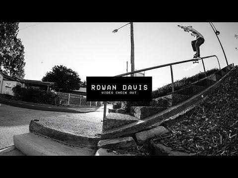 Video Check Out: Rowan Davis | TransWorld SKATEboarding