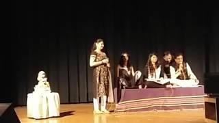 """Pankti desai performing """"unse mili nazar ke mere hosh ud gaye"""""""