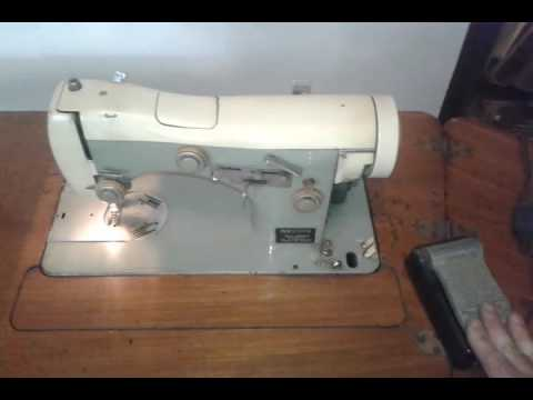 maquina de coser necchi - YouTube
