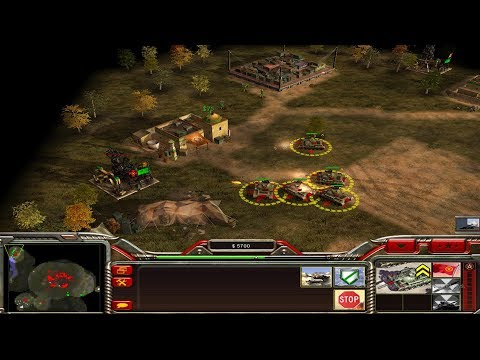 Command & Conquer General Zero Hour Chinese Army#16تختيم لعبة كوماندر اند كونكر