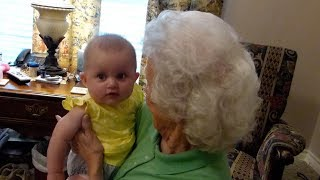 Ayla meets her great grandparents for the first time!