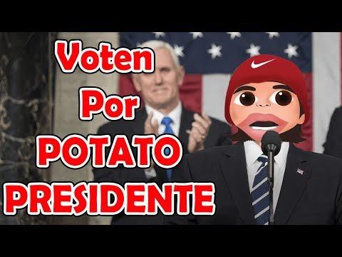 Potato Para PRESIDENTE ✔️😂🔥l El Luchador