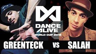 Gambar cover GREENTECK(Canada) vs SALAH(France) SEMI FINAL / DANCE ALIVE WORLD CUP 2018