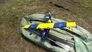 Топим, взлетаем, падаем, летаем и ломаем 2 регуля. Обзор гидросамолета Dynam PBY Catalina Blue