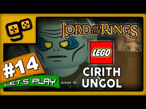 Let's Play: Lego Lord of The Rings - Parte 14 - Cirith Ungol