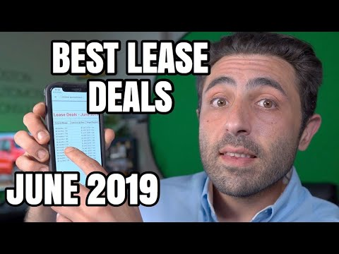 Cheap auto lease deals 2019