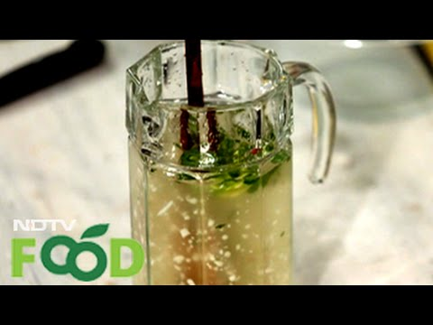 Watch recipe: Coconut Water with Lemon and Mint
