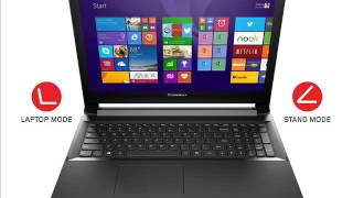 Lenovo Flex 2 15 15.6-Inch Touchscreen Laptop (59413546) Black