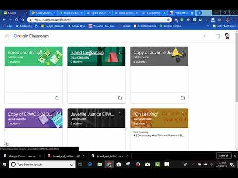 Google Classroom And ERWC