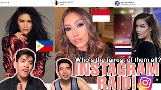 Instagram Raid | Miss Universe 2019 Candidates | Indonesia Vs Philippines Vs Thailand