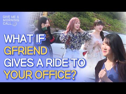 GFriend Surprises Fan Outside the Front Door • ENG SUB • dingo kdrama