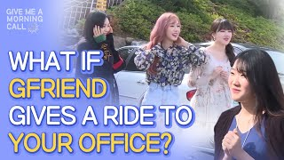 GFriend Surprises Fan Outside the Front Door • ENG SUB • dingo kdrama