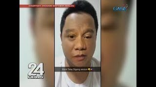 """24 Oras: Sample ng isang netizen sa """"Waze"""" na ginamit ng boses ng ilang Pinoy personalities"""