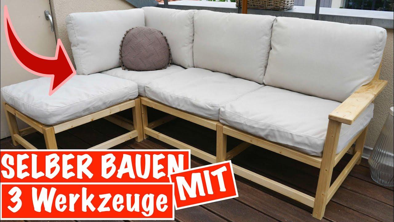 Sitzecke selber bauen für den Garten mit NUR 20 Werkzeugen   Das kann JEDER    MrHandwerk