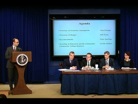 Briefing on President Obama's FY 2013 Budget