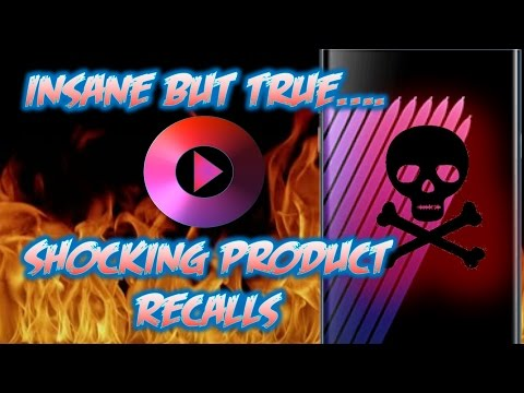 5 ABSOLUTELY Shocking Product Recalls | INSANE BUT TRUE #4
