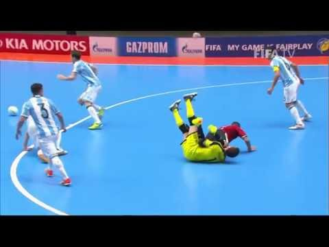 Match 47: Argentina v Egypt - FIFA Futsal World Cup 2016
