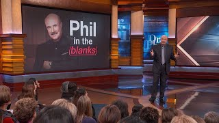 Dr. Phil Announces 'Phil In The Blanks' Podcast To Launch In January