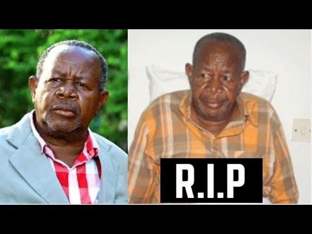 BREAKING: MZEE MAJUTO AFARIKI DUNIA