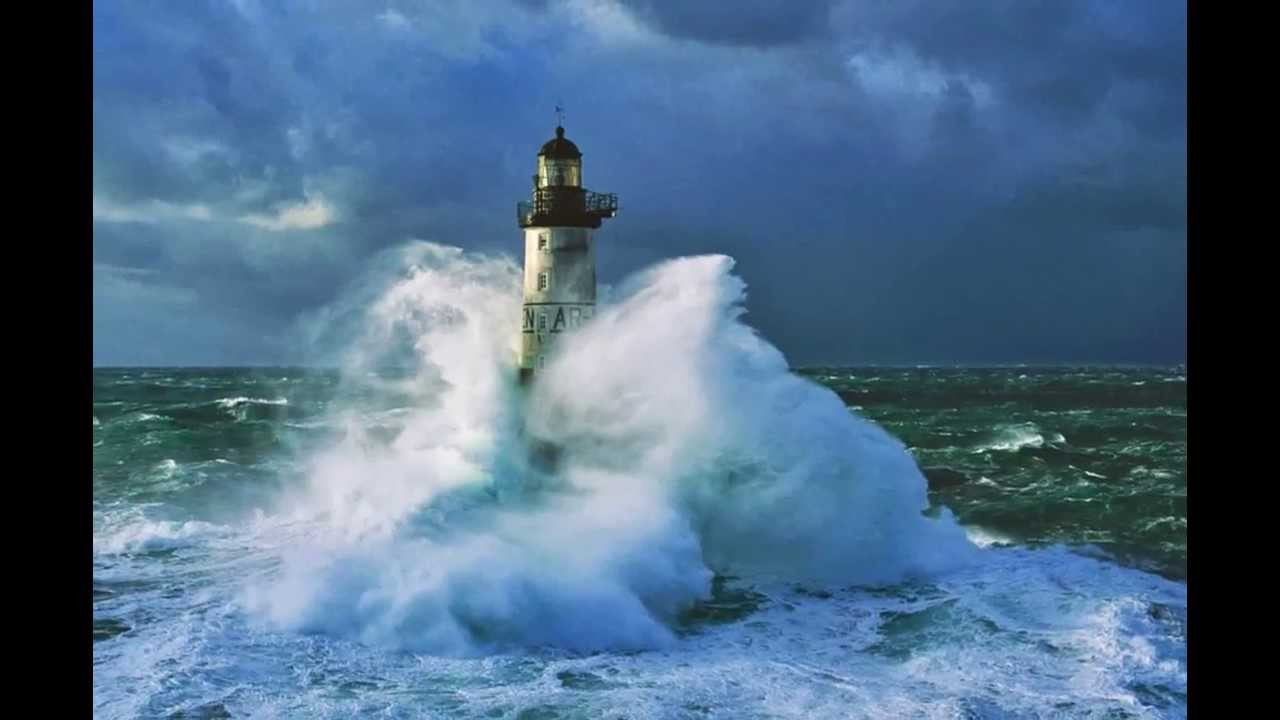 Ar Men Madeinet Lighthouse Ar Men France World Bretagna