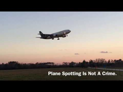 Plane Spotting Is Not A Crime